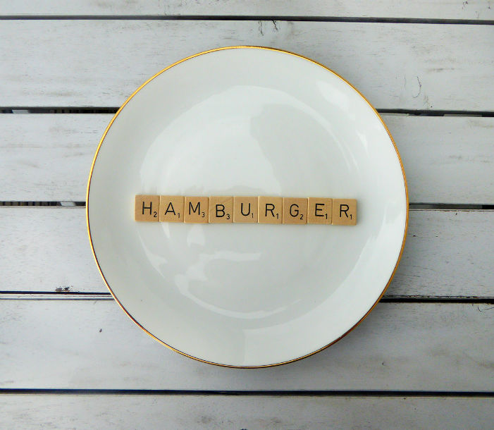 wandteller hamburger vintage herr fuchs deko typo herr fuchs. Black Bedroom Furniture Sets. Home Design Ideas