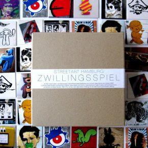 Streetart Hamburg Zwillingsspiel